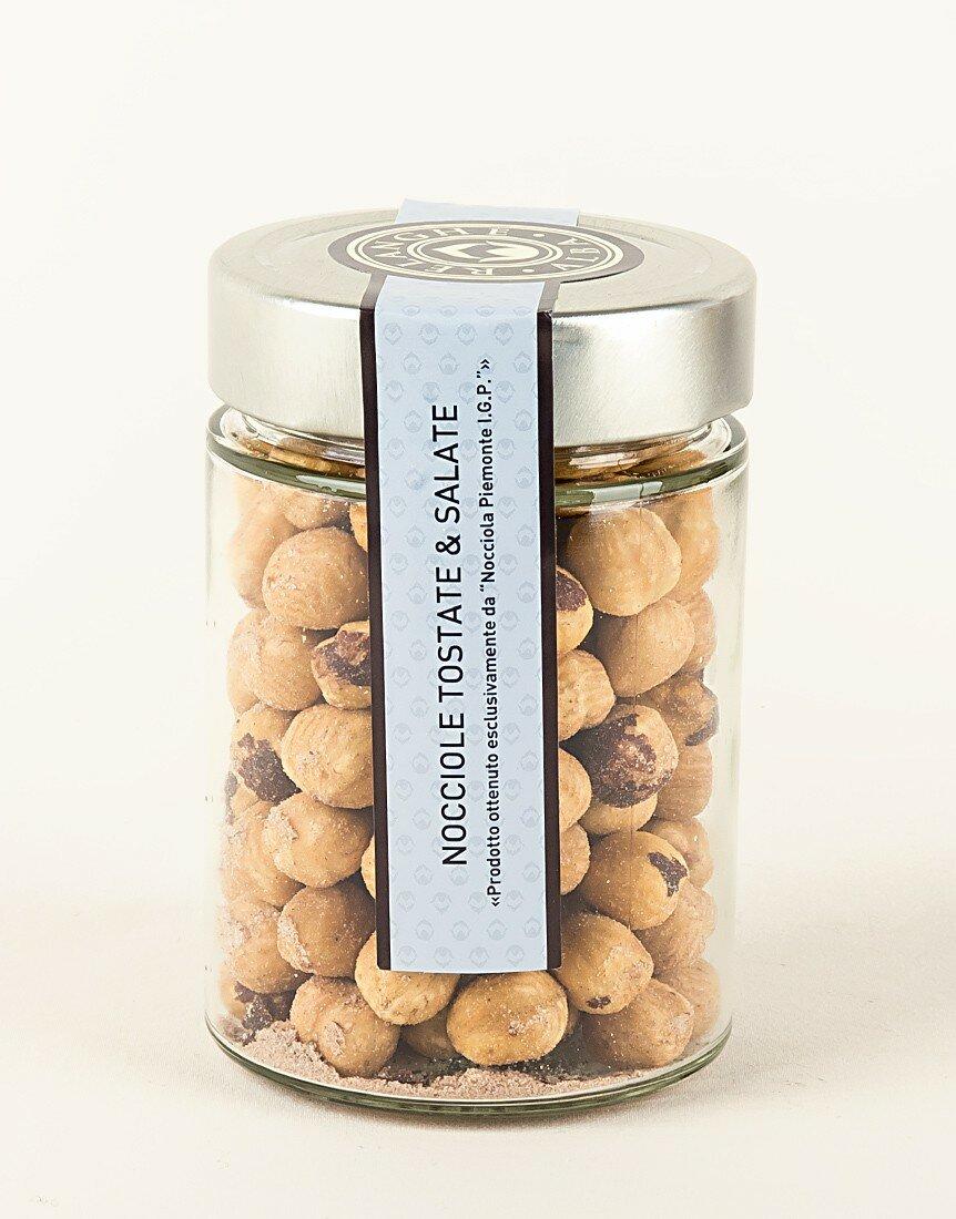Toasted and Salted PGI Piedmont Hazelnuts 150g
