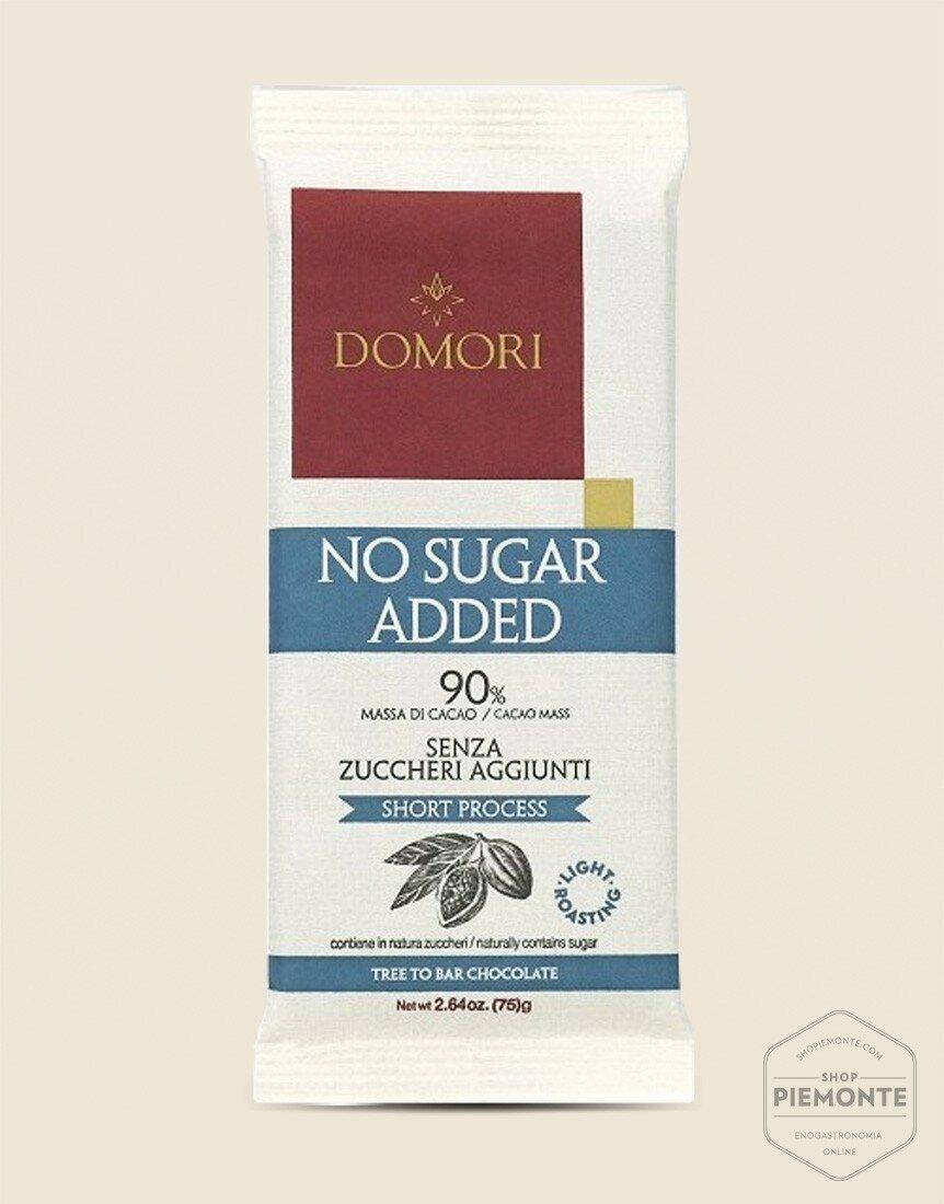 Bar 75gr Dark Chocolate 90% - Sugar Free