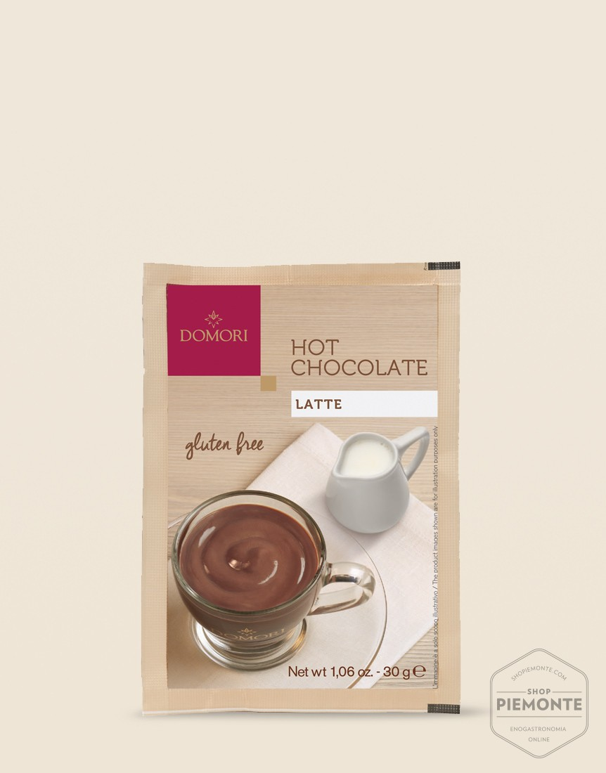 Domori Hot Milky Chocolate Prepared Powder