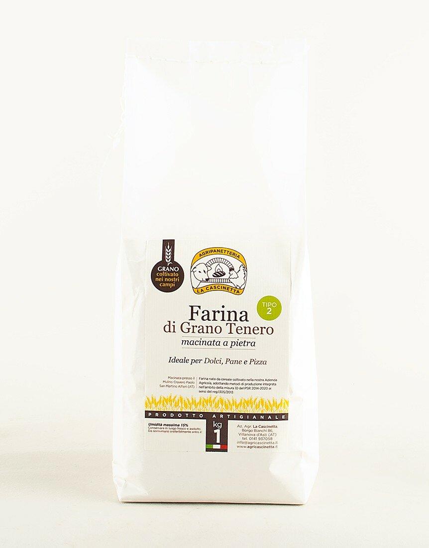 Farina tipo 2 di Grano Tenero - 1kg