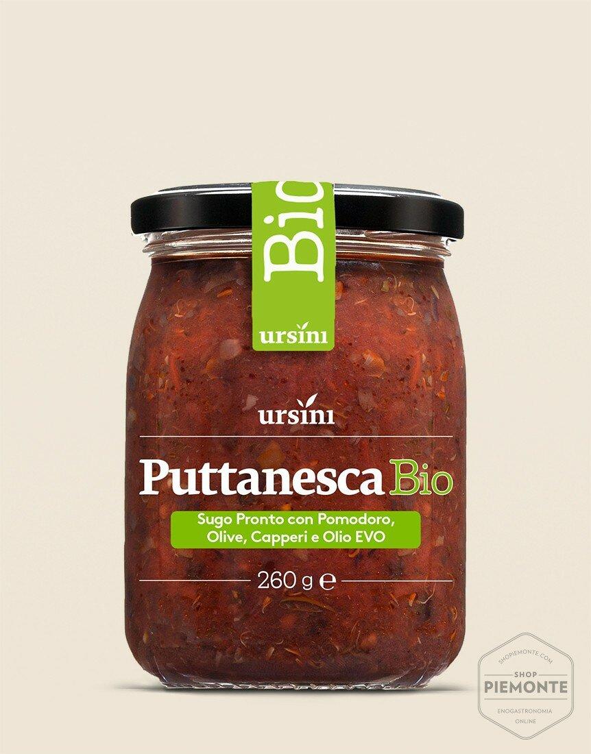 Sugo alla Puttanesca BIO Vasetto 260 g