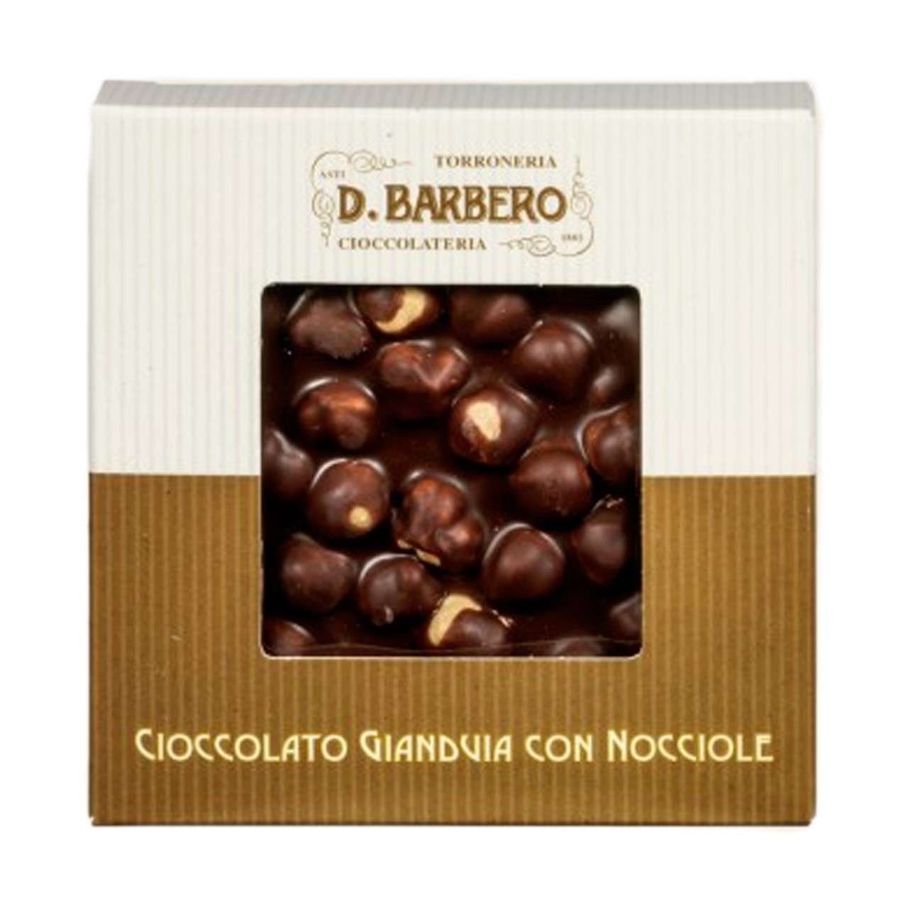 Gianduia chocolate with Piedmont hazelnuts IGP full