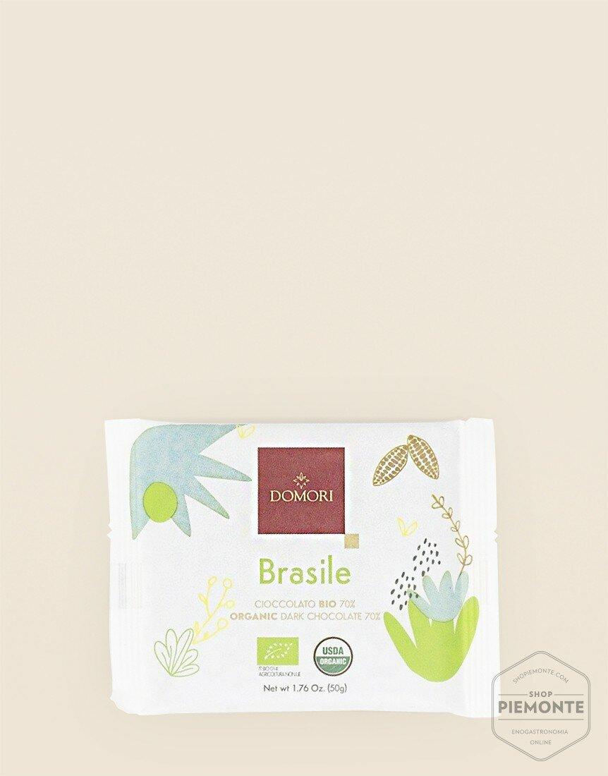 Domori Organic Brasile 50g Bio