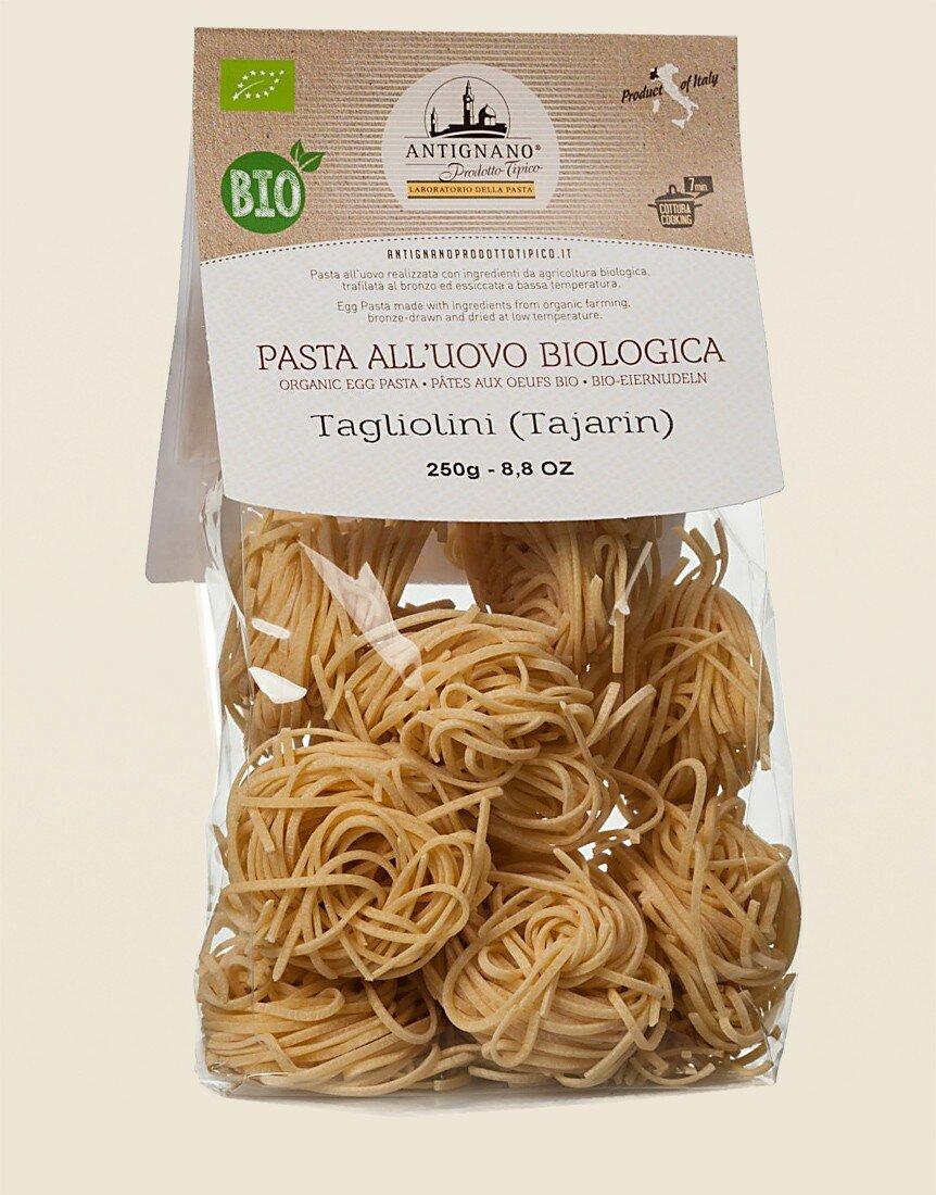 Tajarin - Organic Egg Tagliolini (pasta) 250g