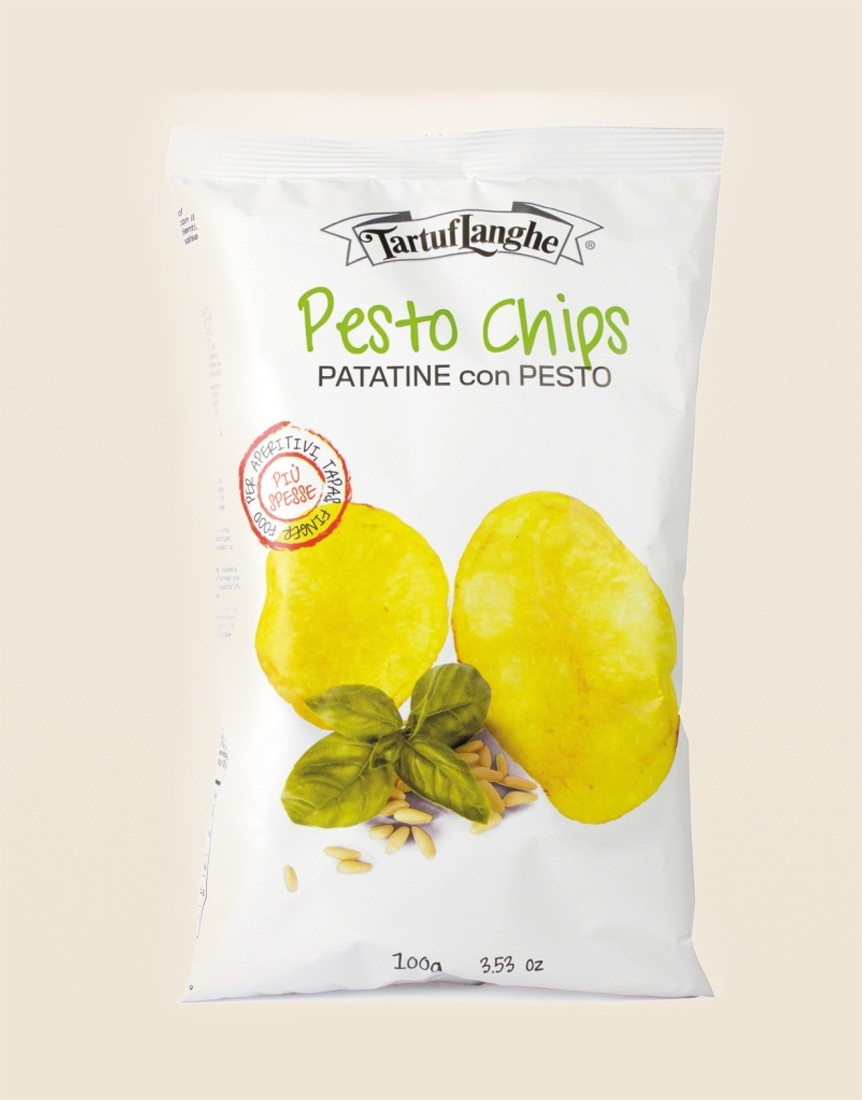 Pesto chips 100 g