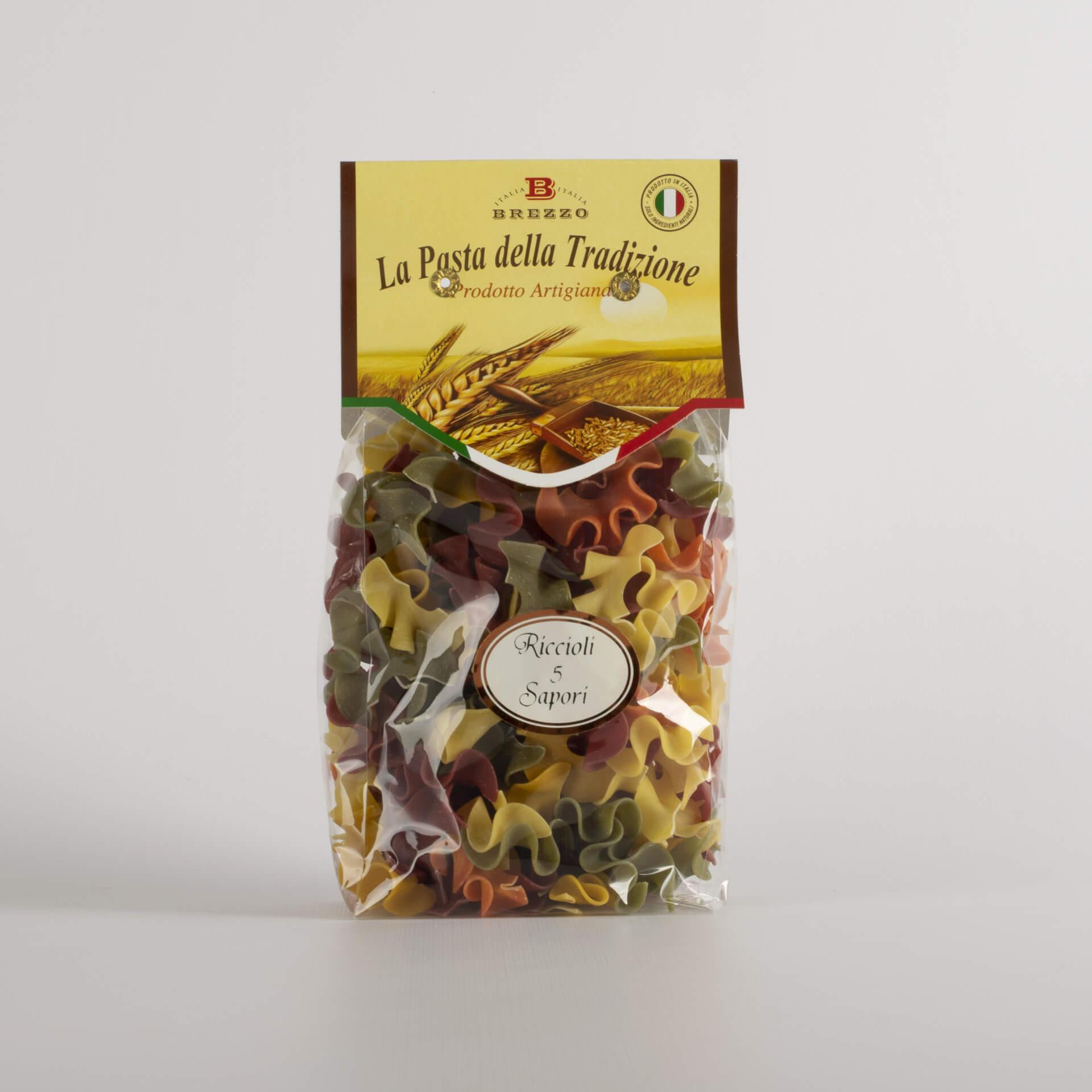 Five flavoured Curl Pasta 250g