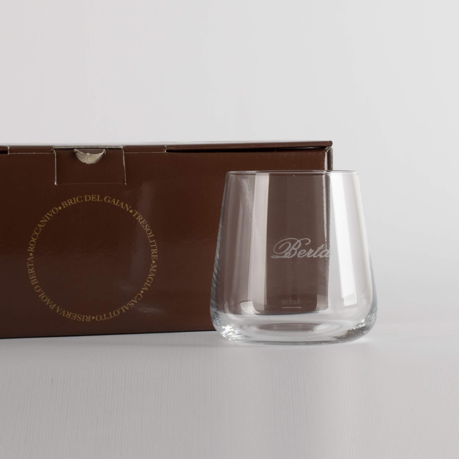 Bicchiere degustazione Riserve - 6 bicchieri