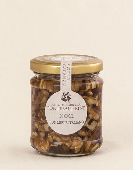 Walnuts in Acacia Honey 225g