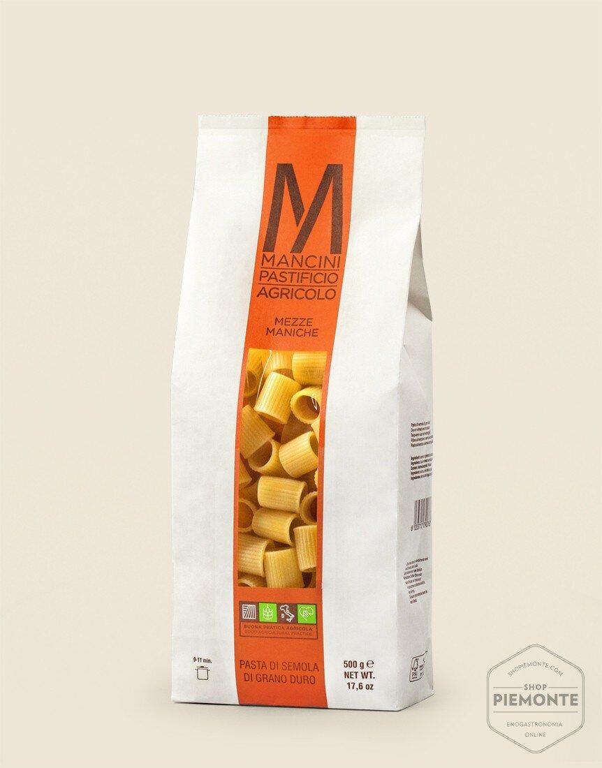 Mancini Mezze Maniche Pasta 500g