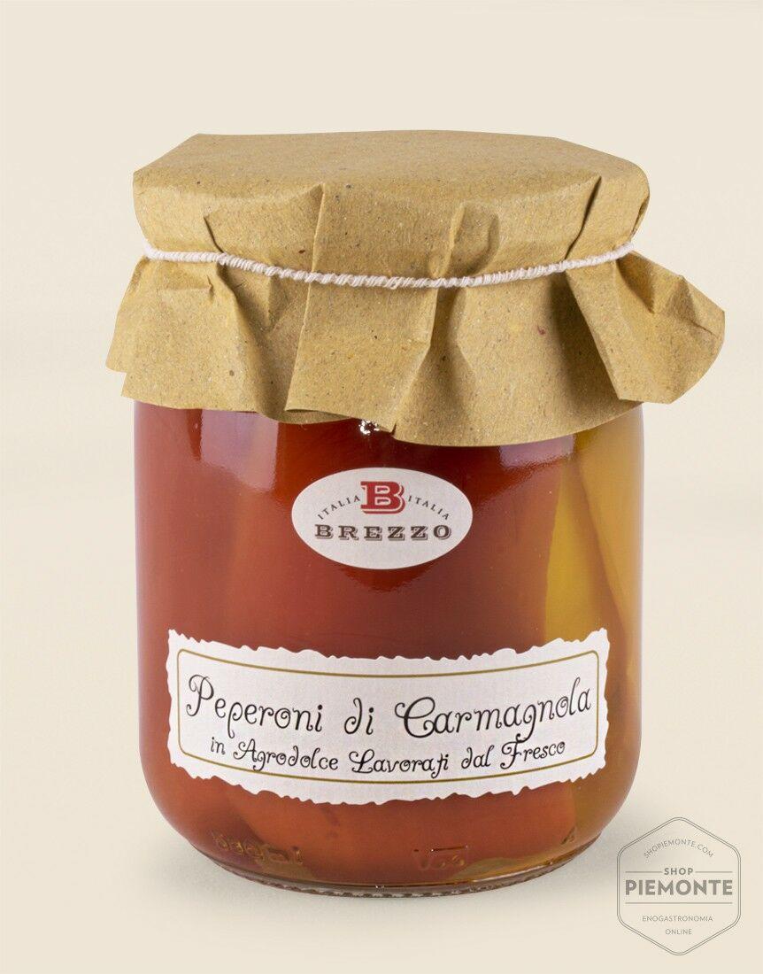 Peperoni di Carmagnola in Agrodolce