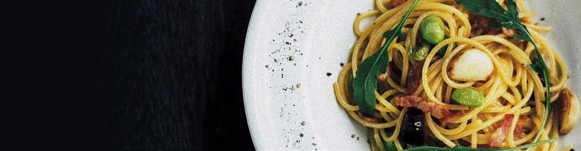 Try the best egg pasta!