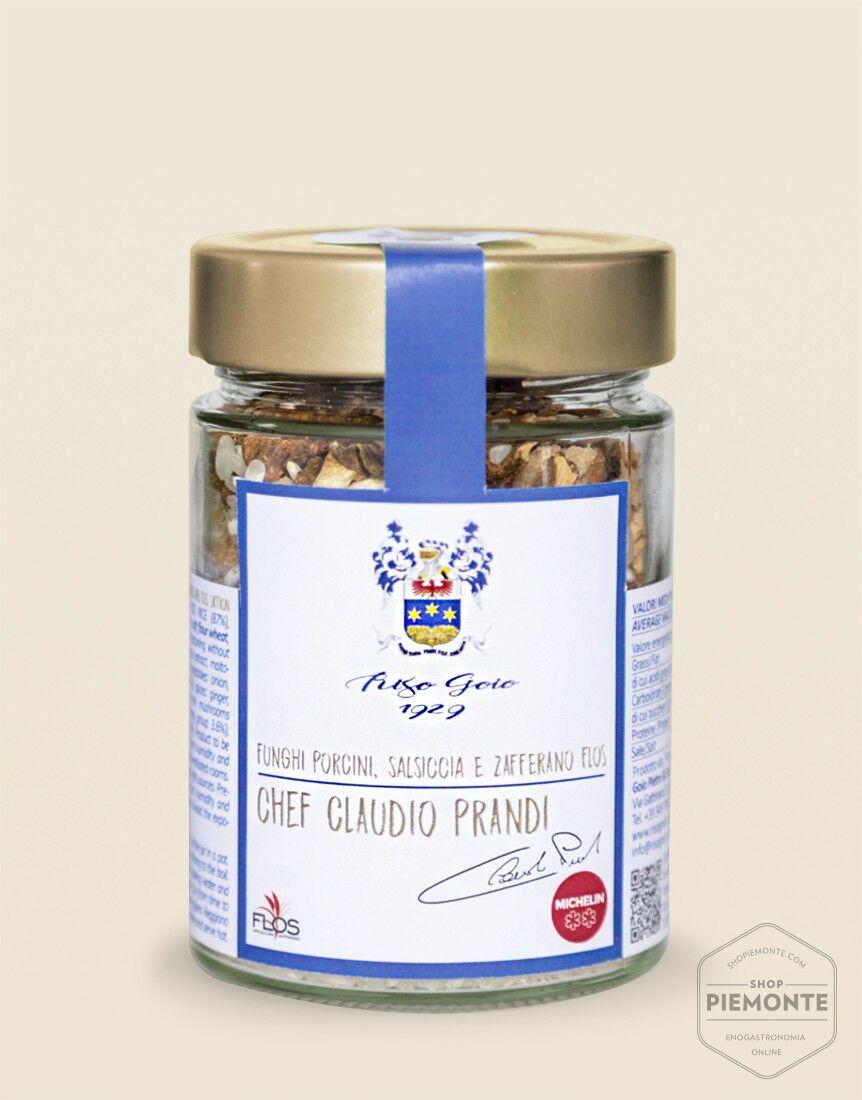 Mushroom and Saffron Risotto 250g