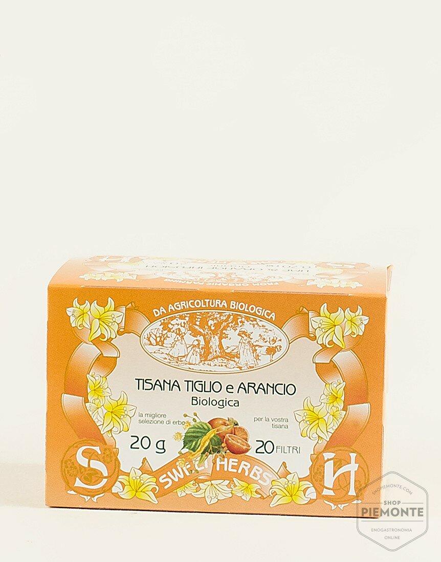 Tisana Tiglio e Arancio Bio
