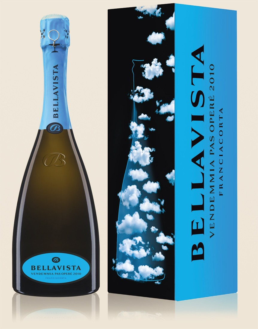 Bellavista Franciacorta Pas Harvest Operé with Case