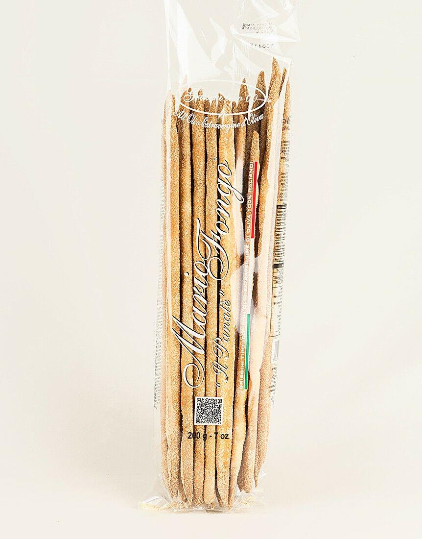 Grissini Stirati a Mano Classici (Classic handmade breadsticks) - 200g