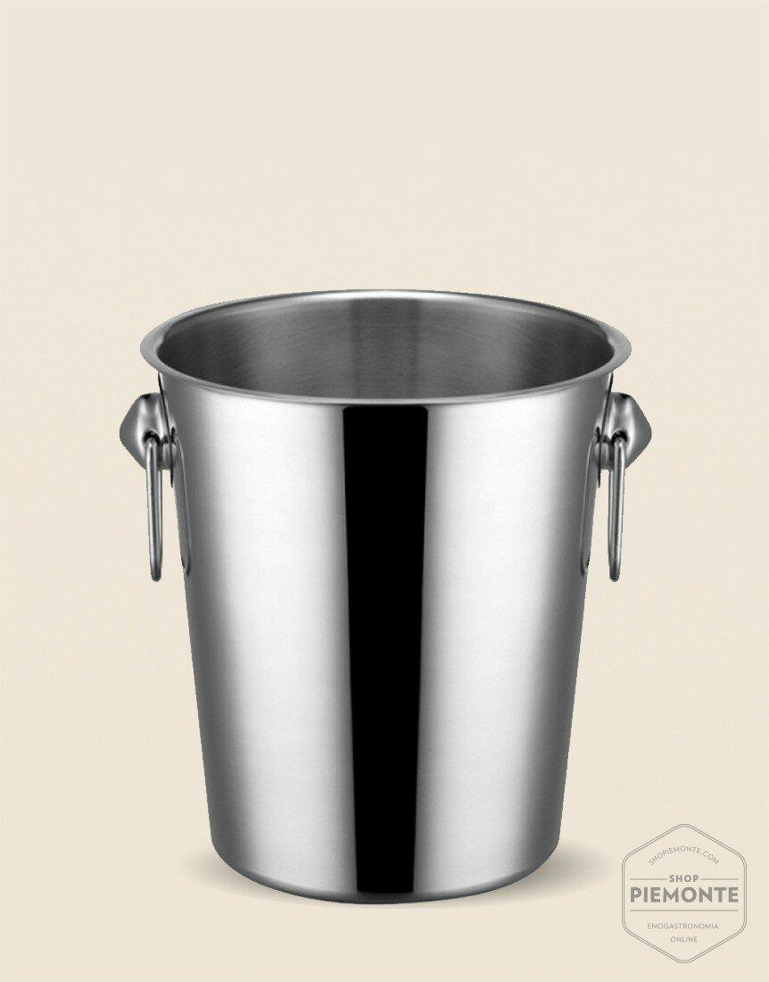Easy Secchiello Champagne con anelli acciaio inox D. cm 20
