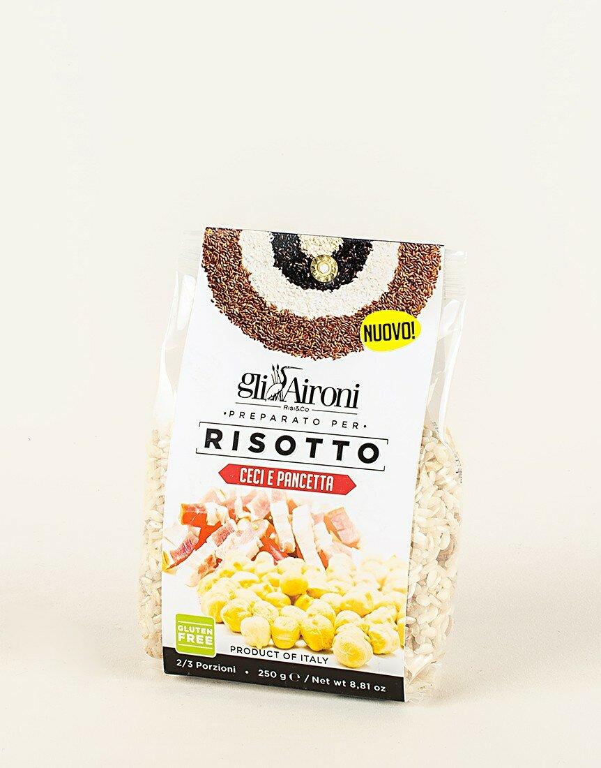 Risotto Ceci e Pancetta - 250 gr
