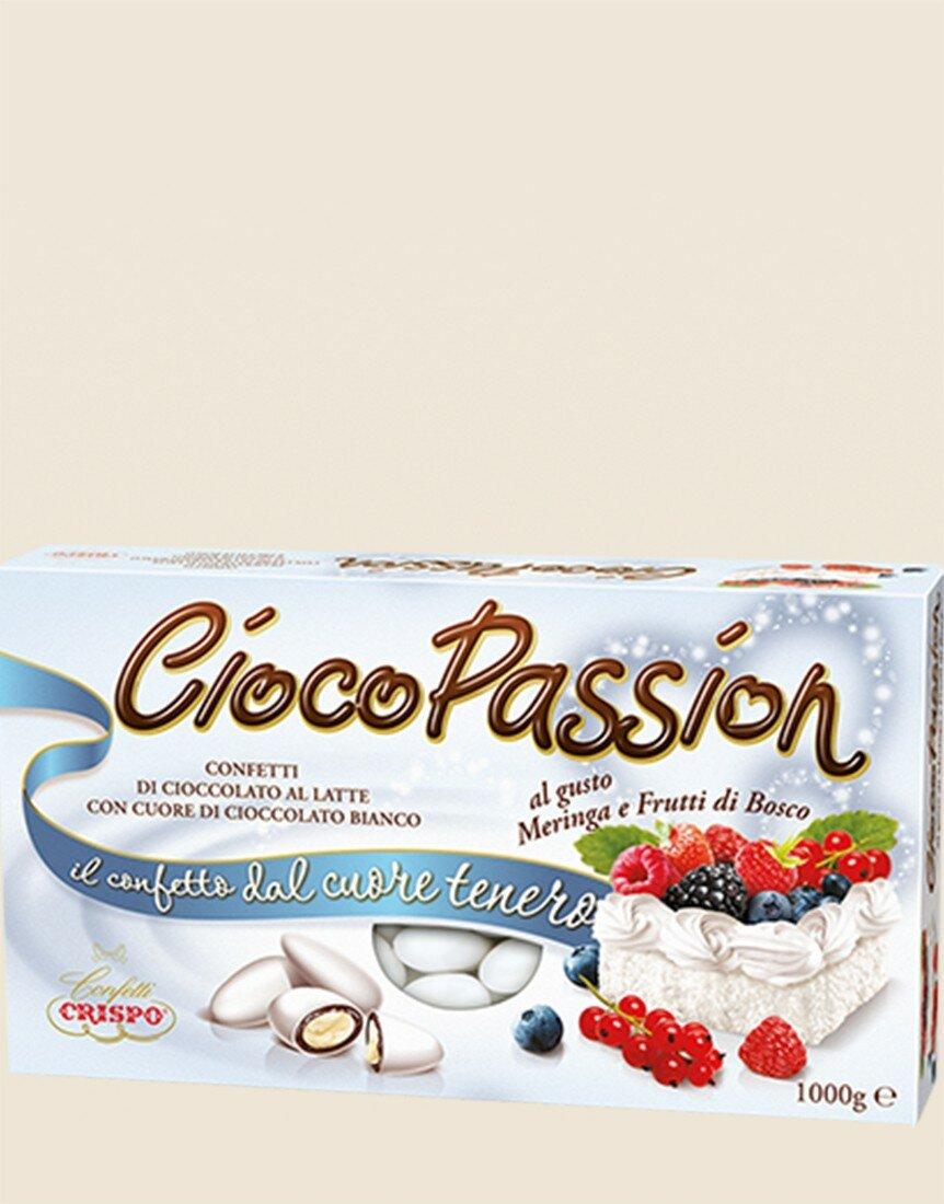 CiocoPassion Meringue and Wild Berry Dragées