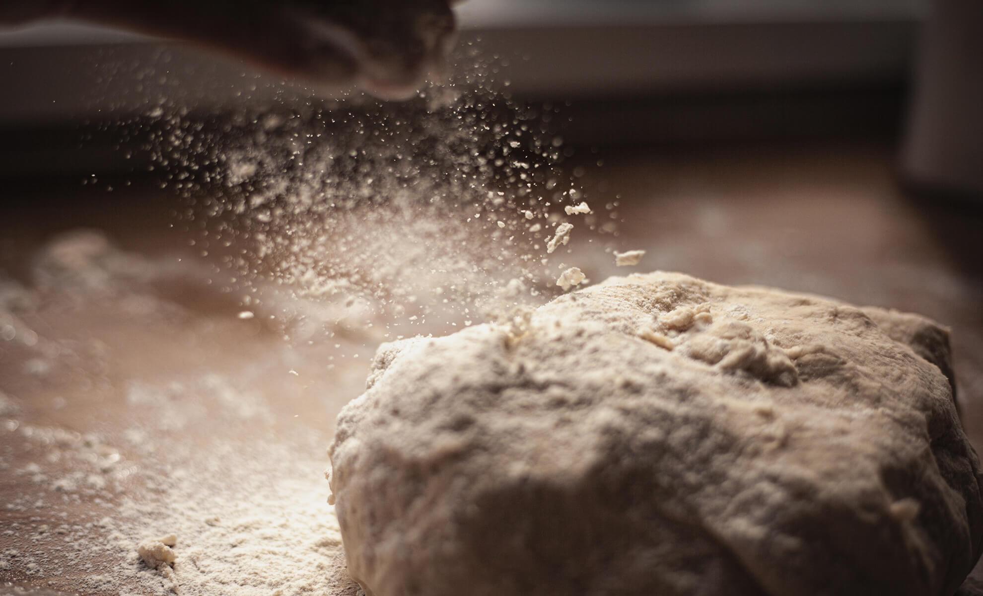 Ancient cereals flour