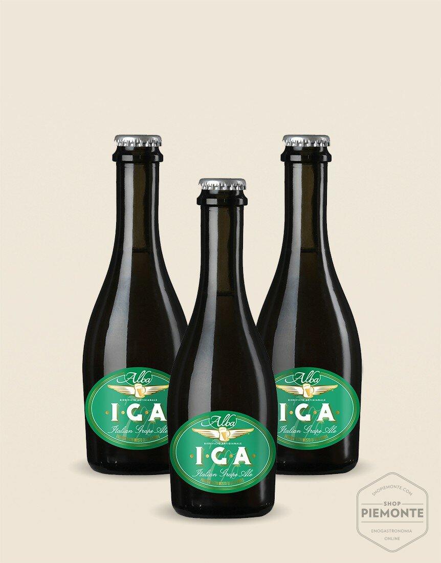 3 x IGA Arneis White Italian Grape Ale 33 cl