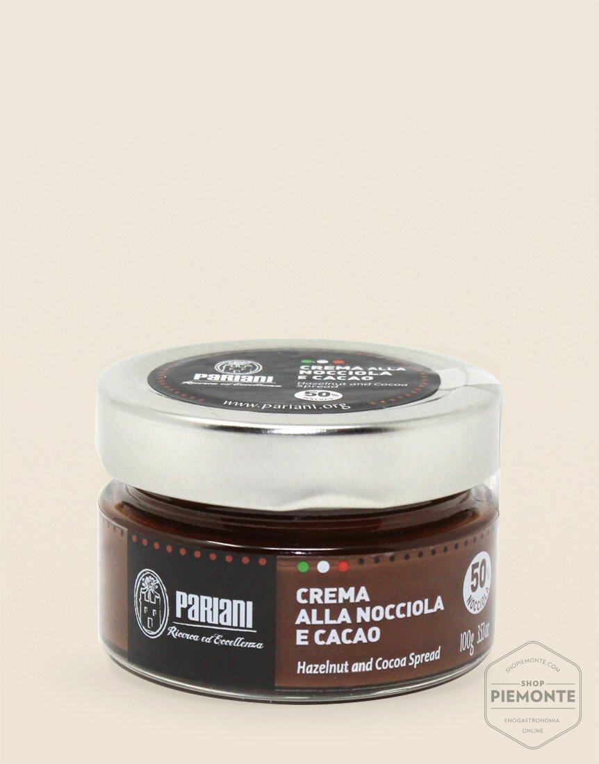 Crema Pariani alla Nocciola e Cacao 100 gr