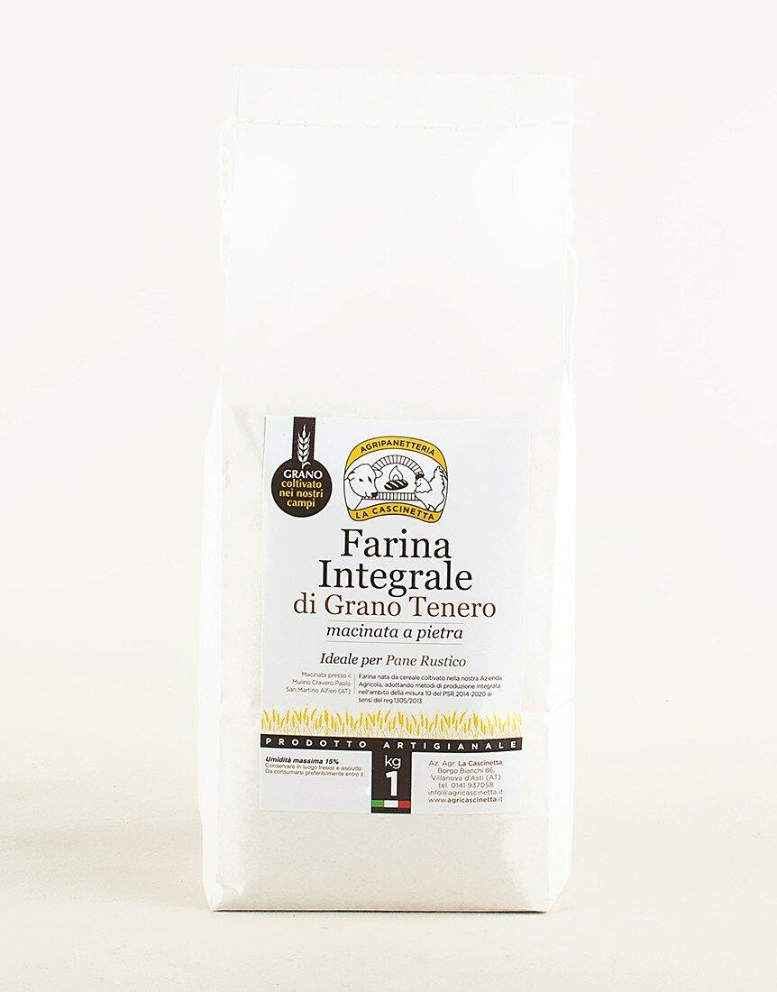 Farina Integrale di Grano Tenero - 1kg