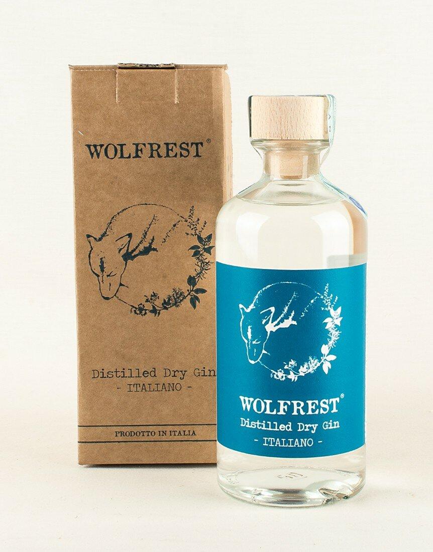 Wolfrest Gin delle Langhe con astuccio