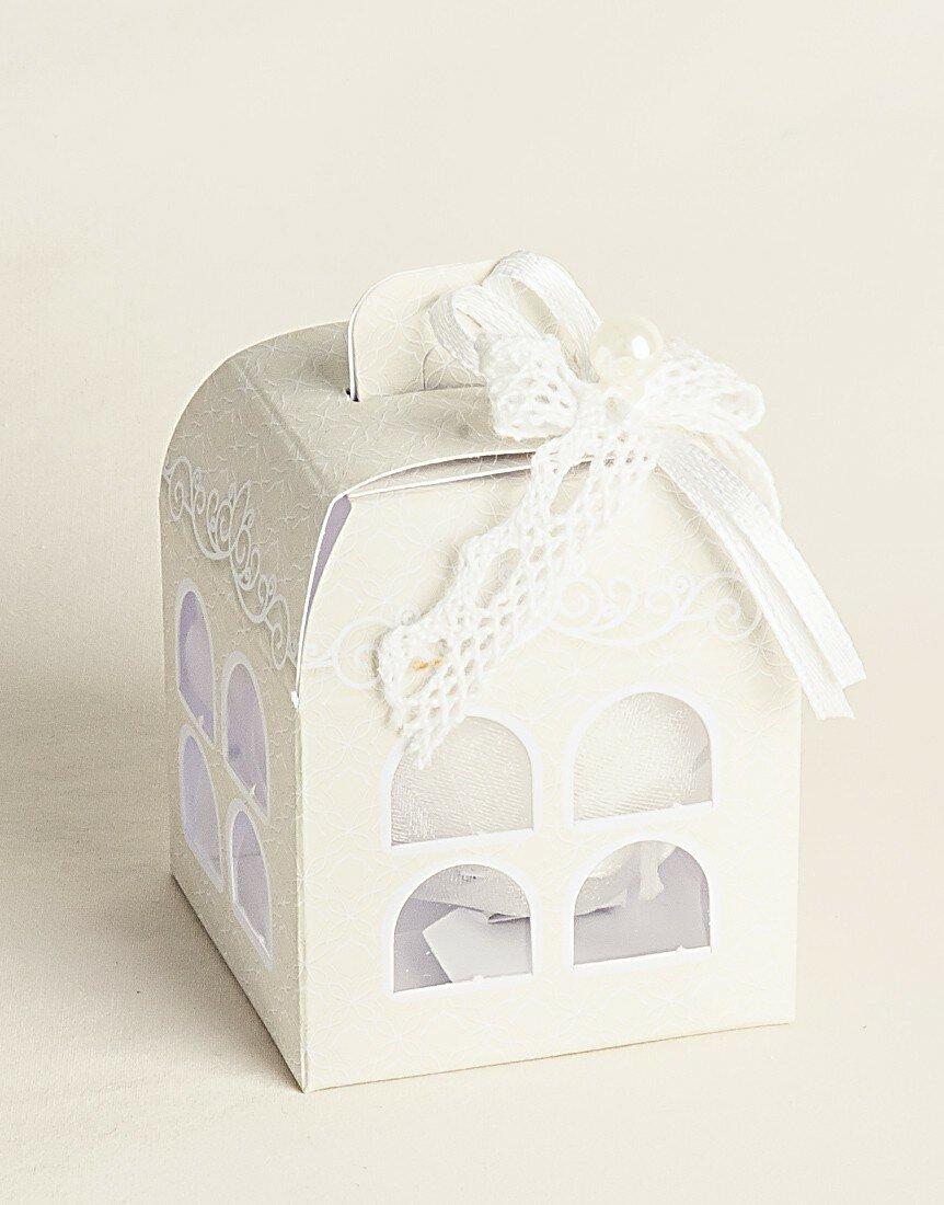 Bomboniera Wedding scatolina Lanterna Finestrata 20 pz