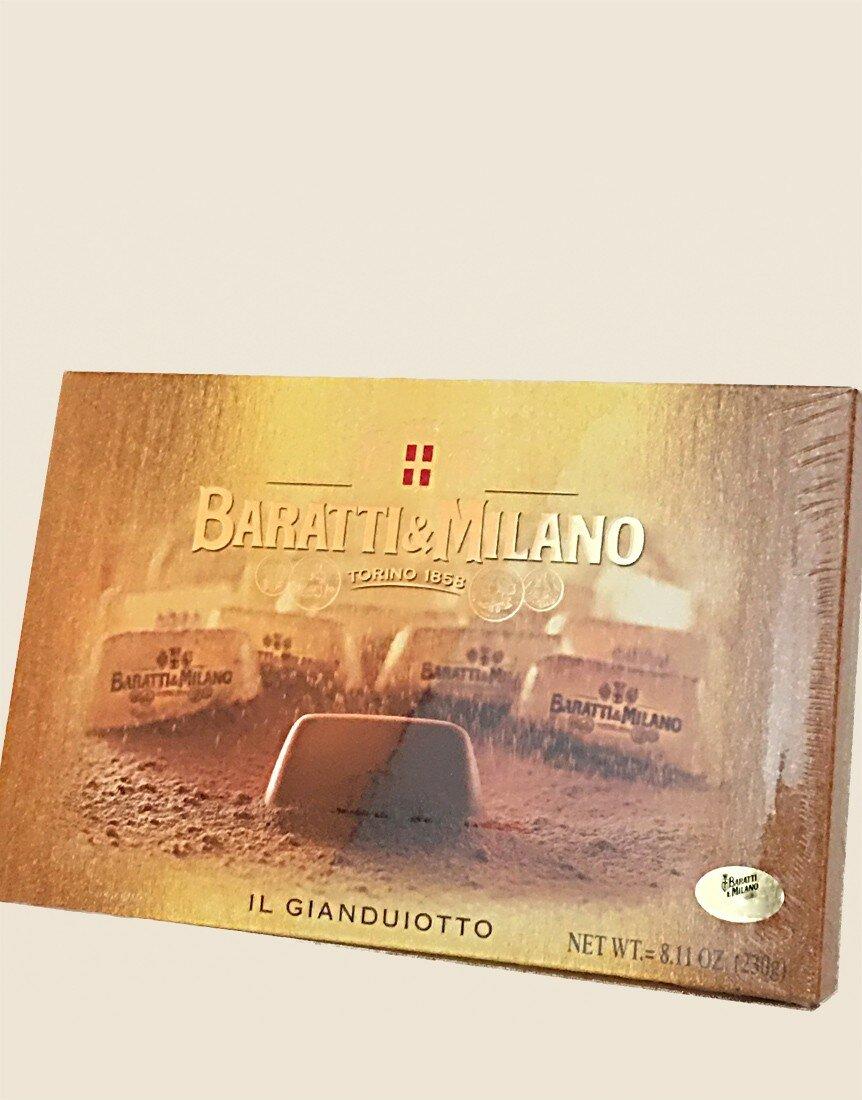 Baratti & Milano Gianduiotti Golden Box Selection