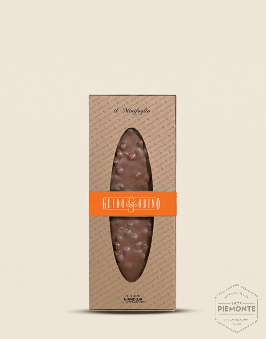 Extra fine Gianduja Chocolate Sheet with Piedmont Hazelnut I.G.P. 300g