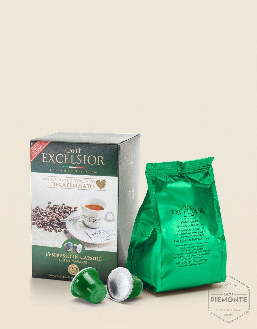 Caffè capsule Decaffeinato Demus Method compatibili Nespresso