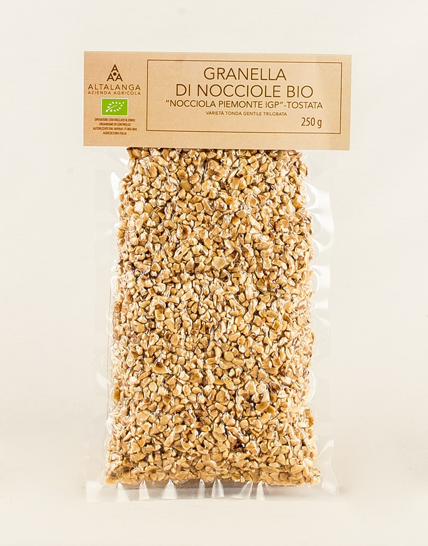 Organic Finely Ground Hazelnuts 250 g
