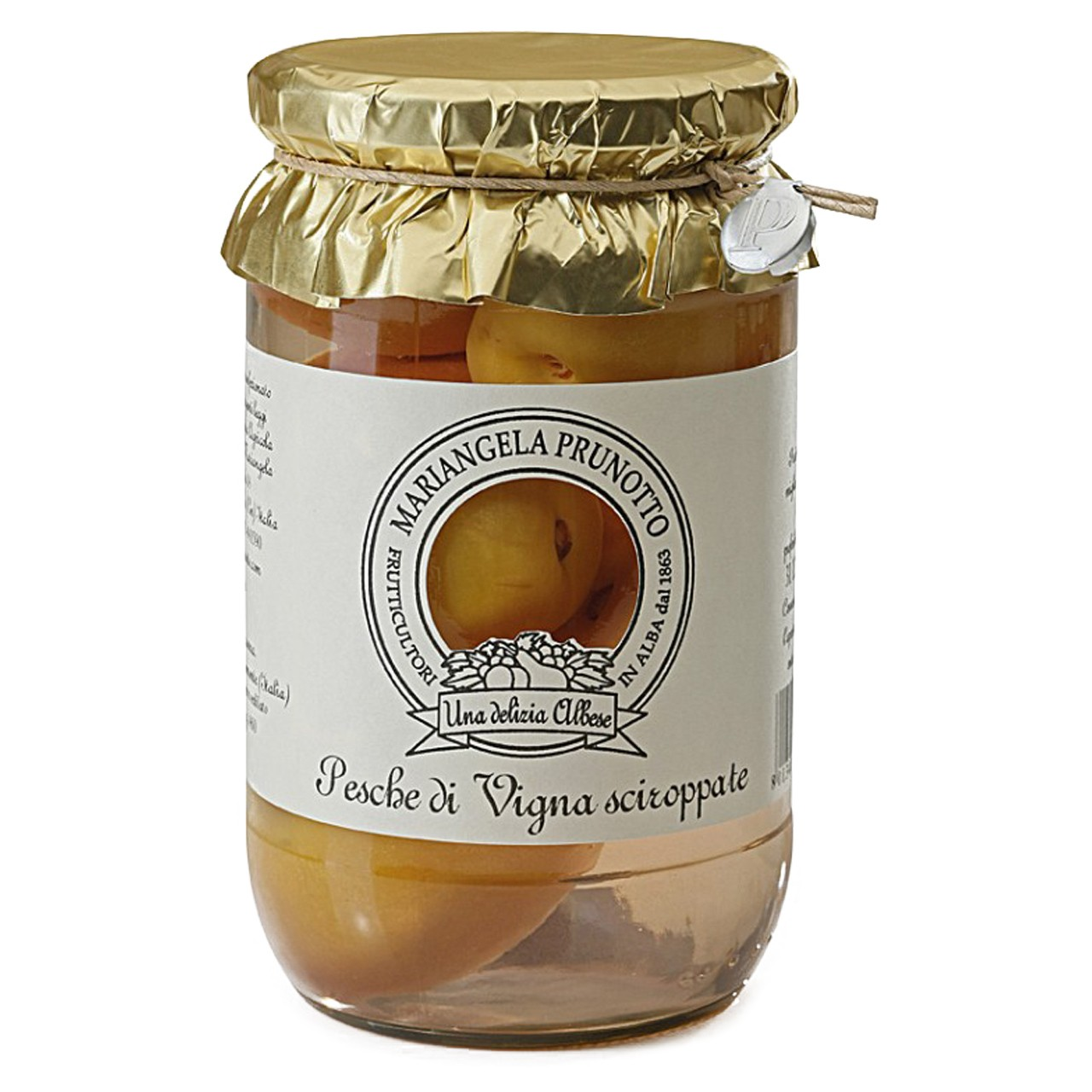 Vigna Peaches in Syrup