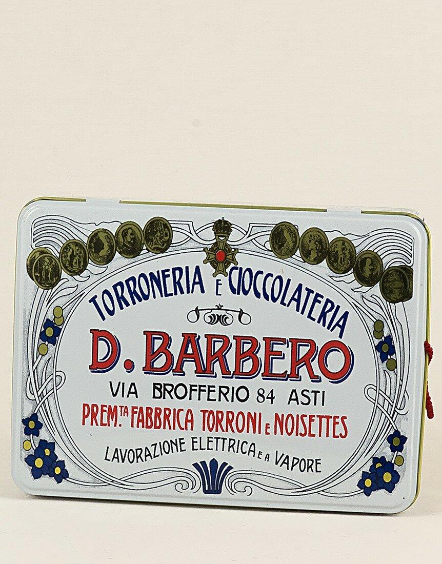 Torronfette nocciola Piemonte I.G.P. in Scatola metallo gr. 500