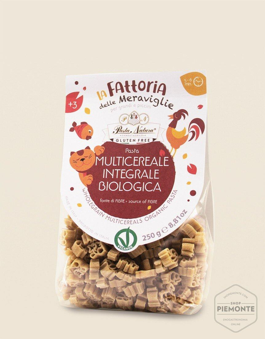 """""""Organic & Vegan Whole Grain Multigrain"""" Pasta  Fattoria per Bambini"""