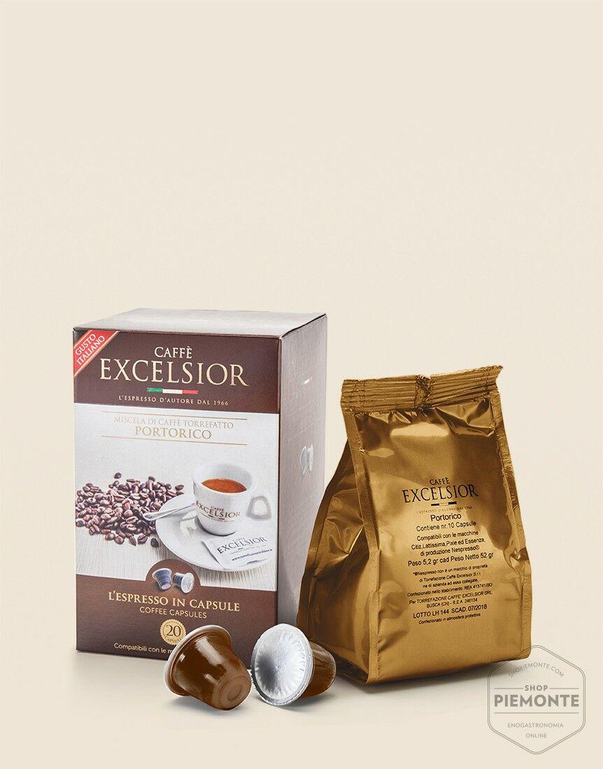 Caffè capsule Portorico compatibili Nespresso
