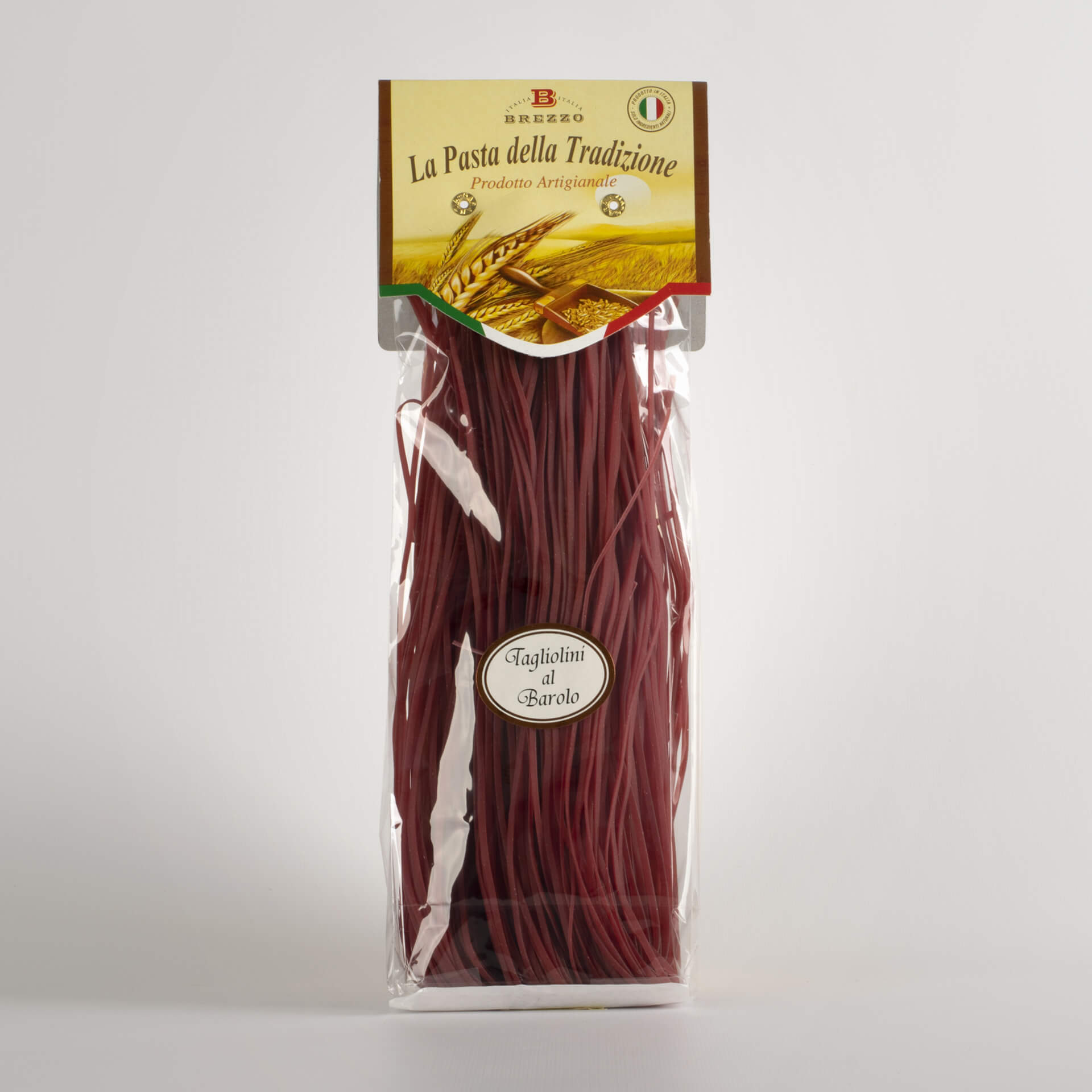 Wheat noodles with Barolo 250G