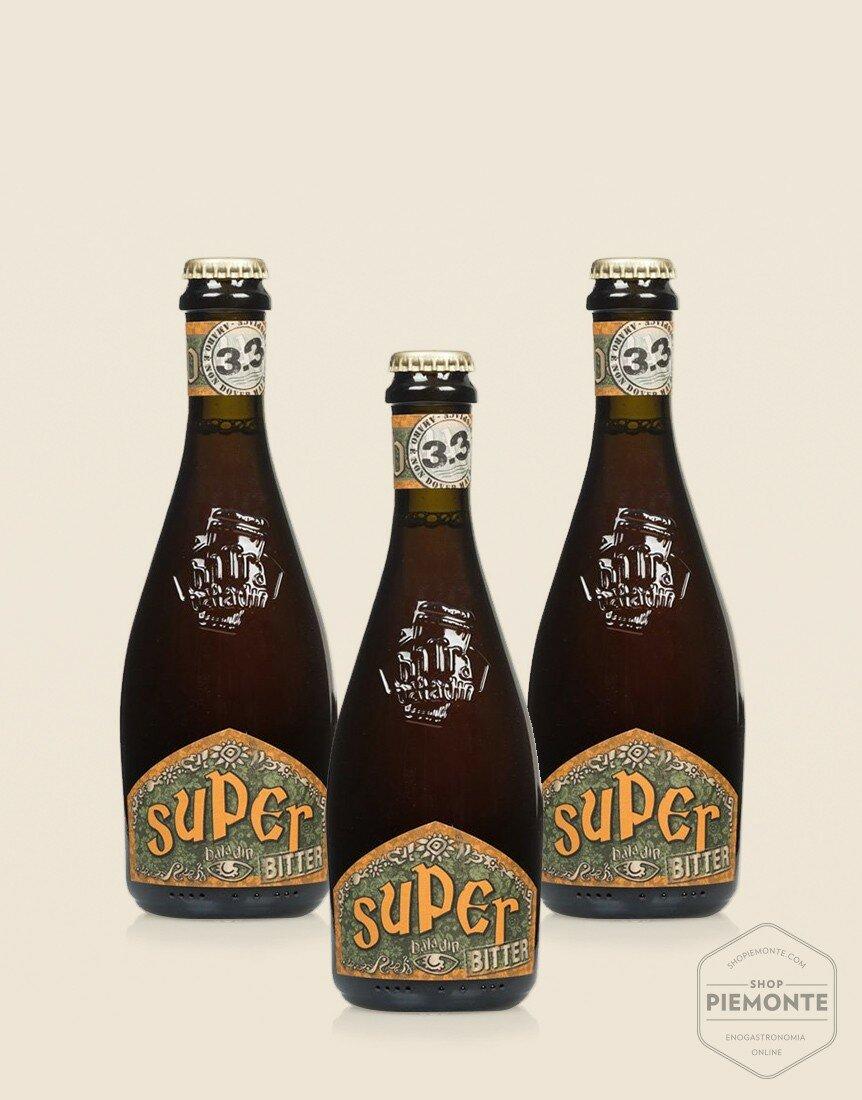 3 x Super Bitter 33cl - Birra Baladin ambrata