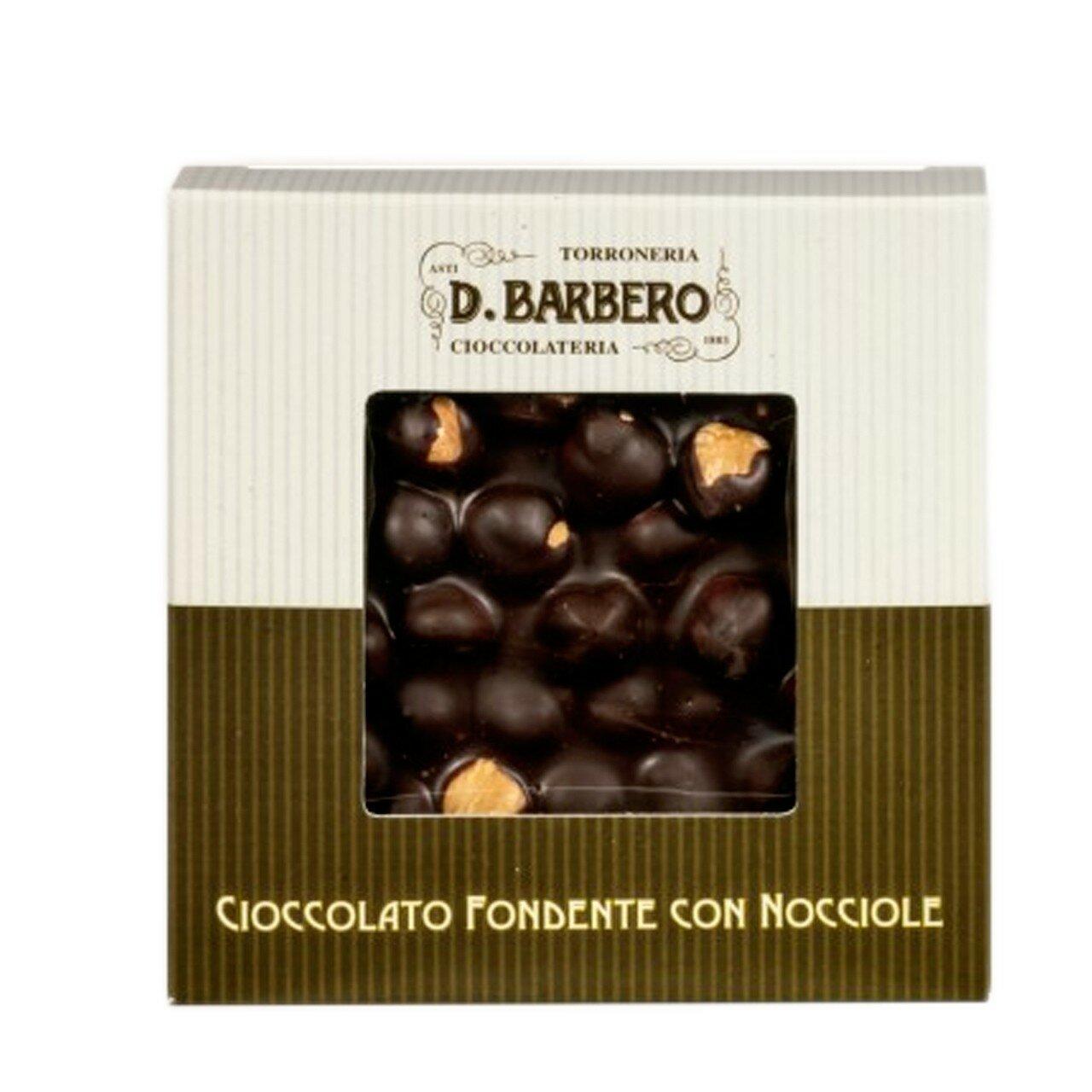 Dark chocolate with hazelnuts 120g