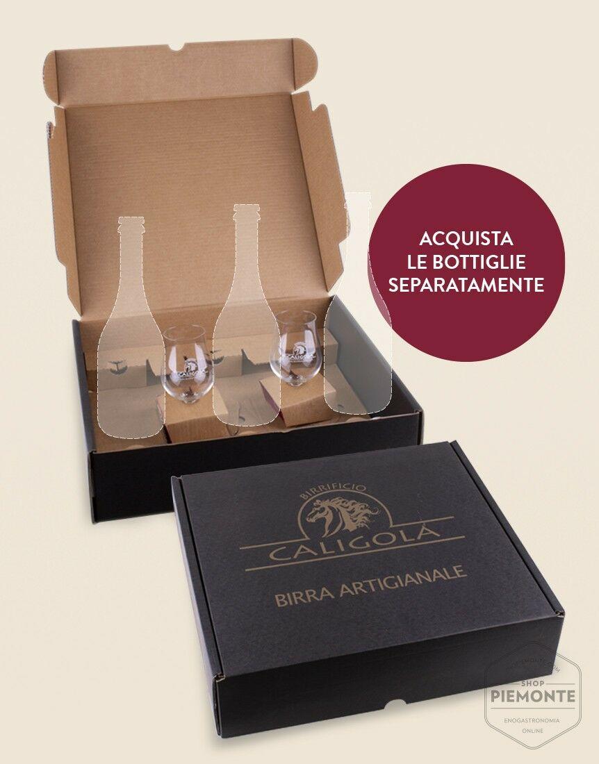 Confezione Caligola da 3 bt + 2 bicchiere