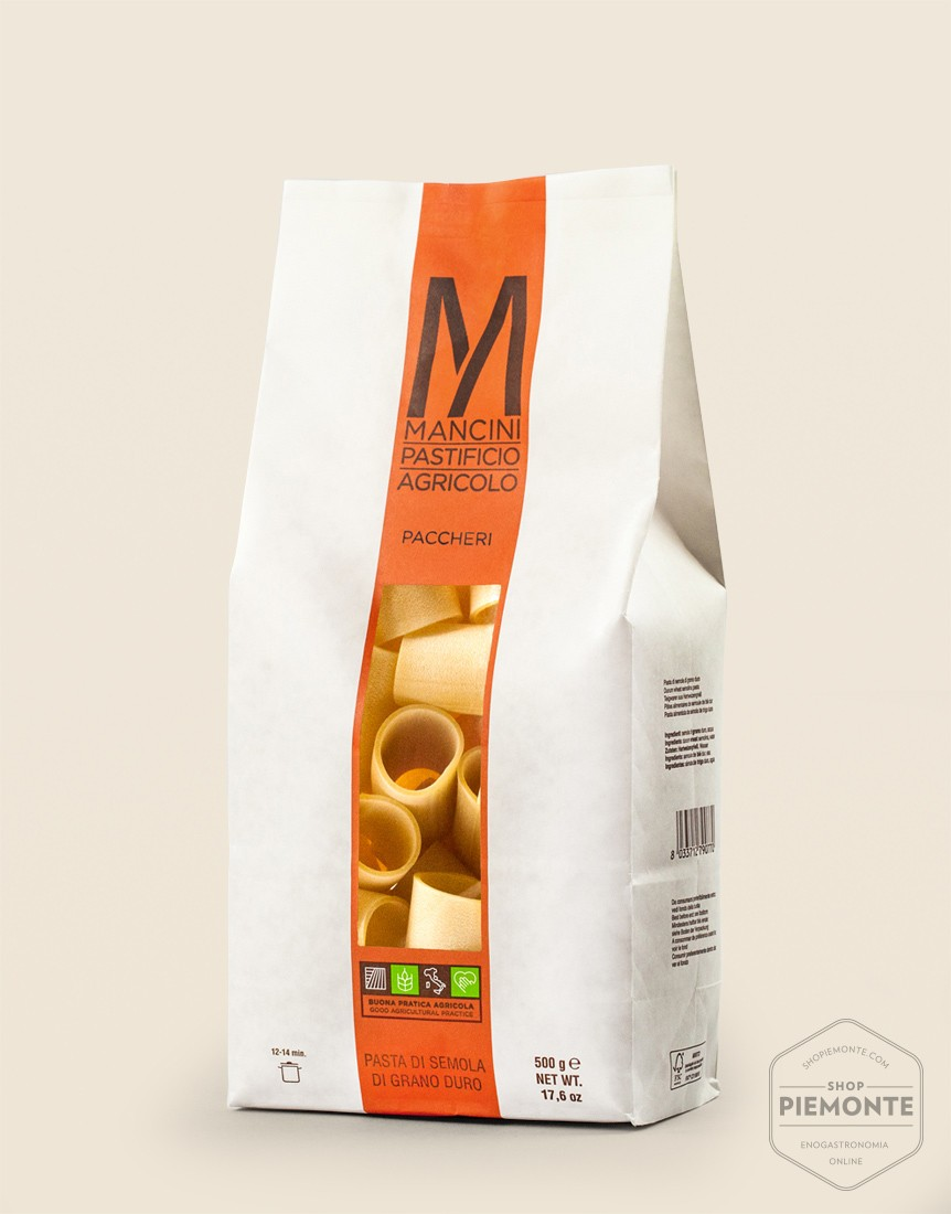 Mancini Paccheri (very large tubed pasta) 500 g