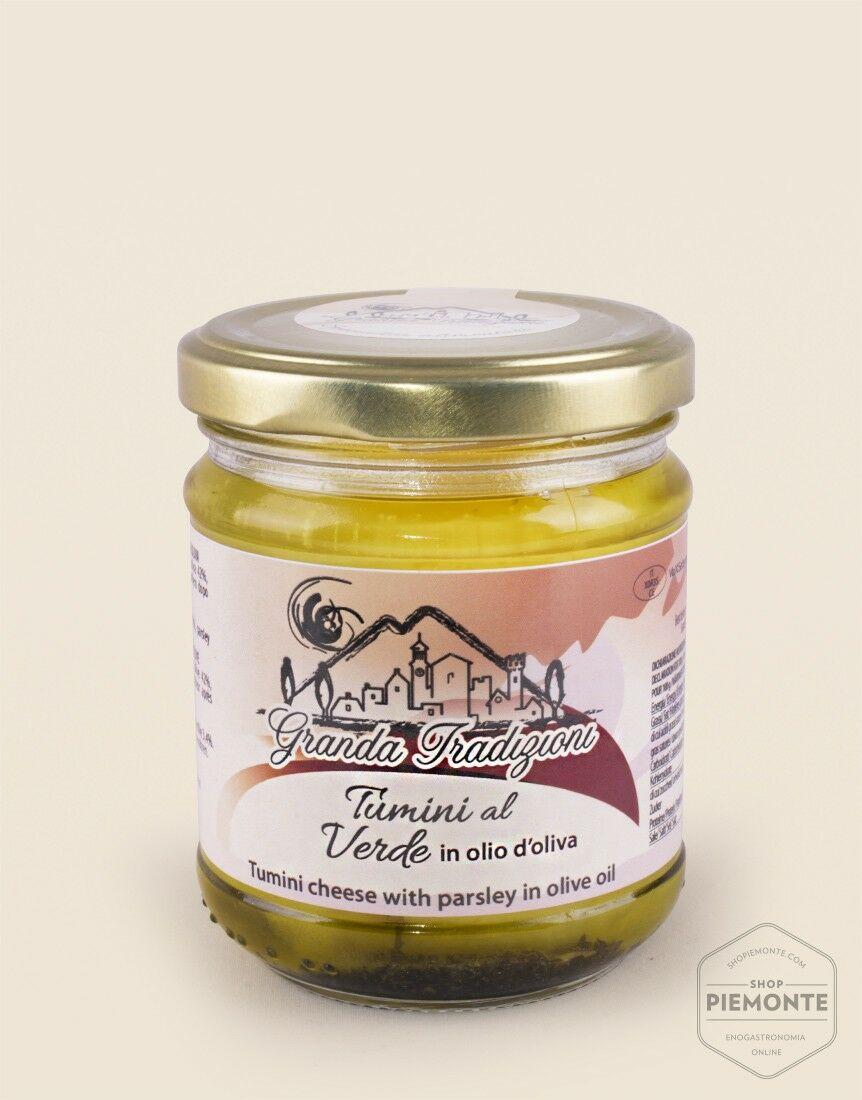 Tomini d'Alba in salsa verde 170g