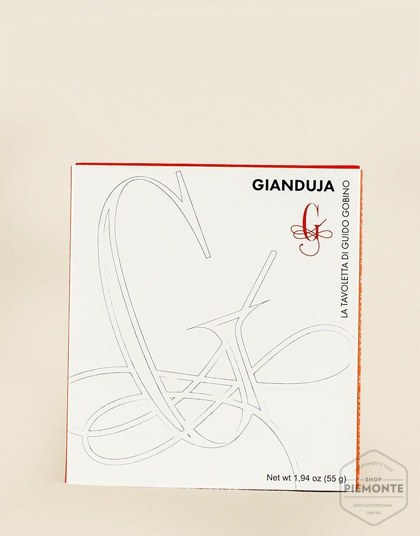 Gianduia Chocolate Bar with Piedmont PGI Hazelnuts.