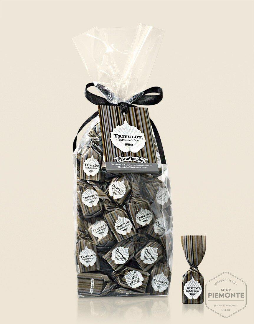Alba's black sweet truffles