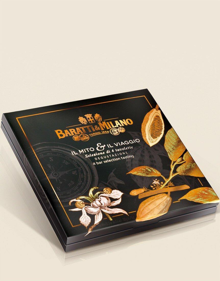 """Baratti & Milano """"Il Mito & il Viaggio"""" Tasting Selection Box"""
