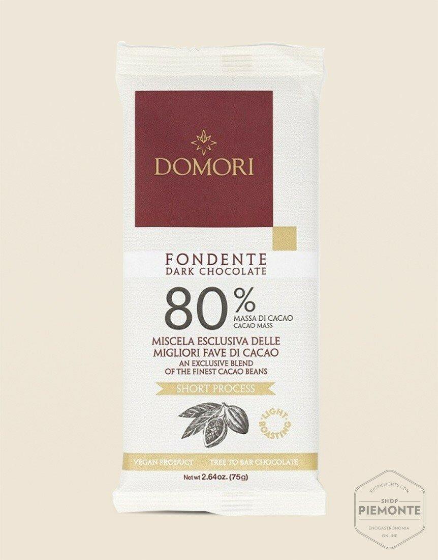Domori's 80% Dark Chocolate Tablet