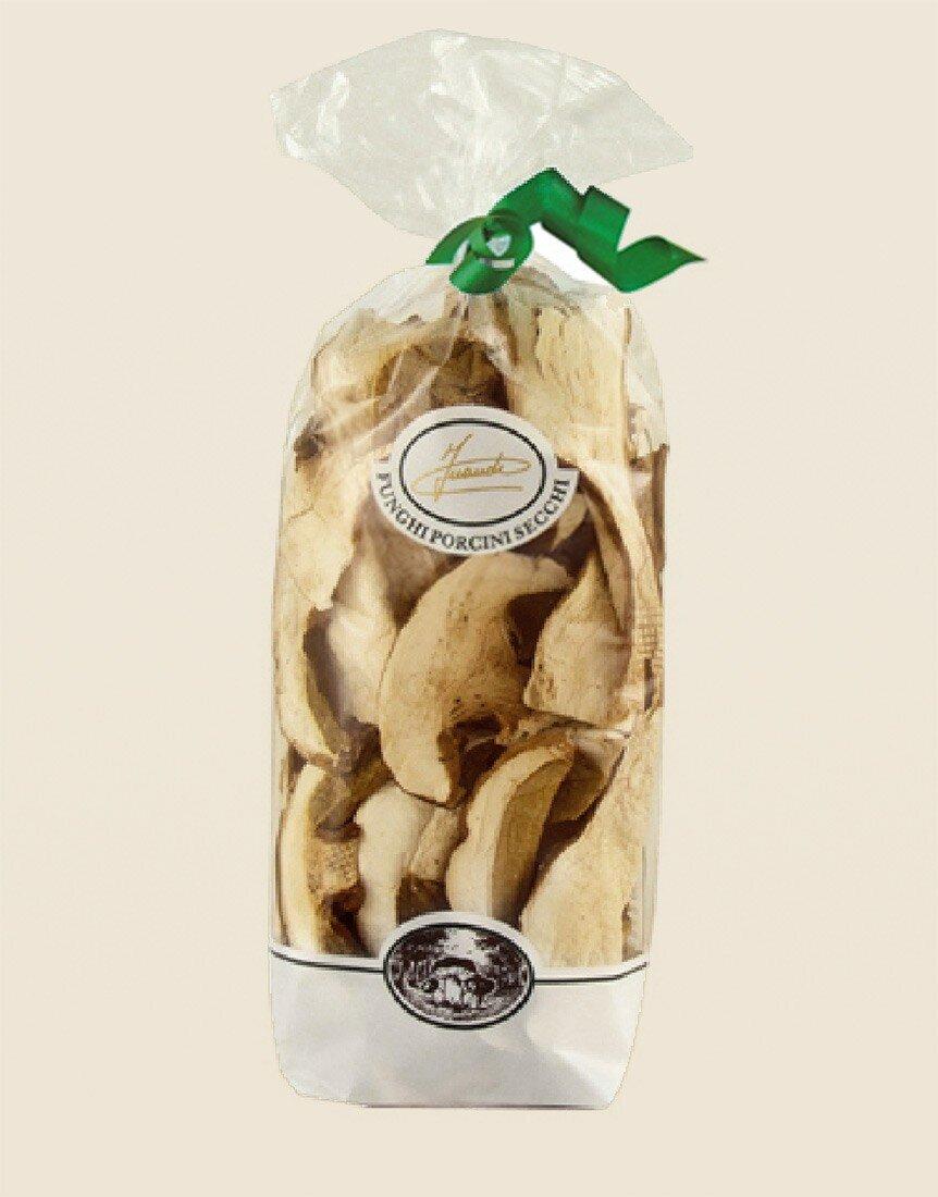 "Dried porcini mushrooms ""special"" in bag"