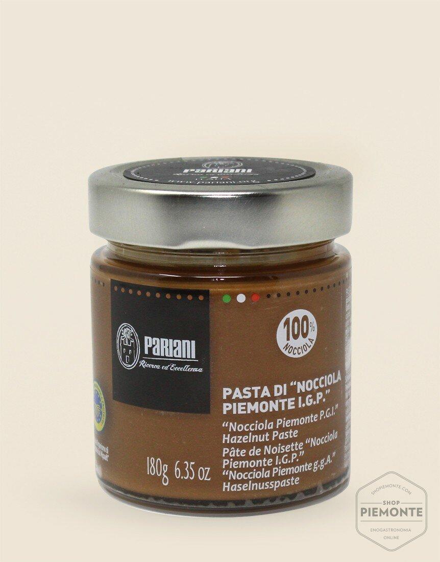 Pasta di Nocciola Piemonte I.G.P tostata Barattolo di Vetro