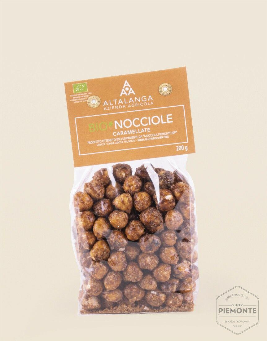 Organic Caramelized Hazelnuts 200g
