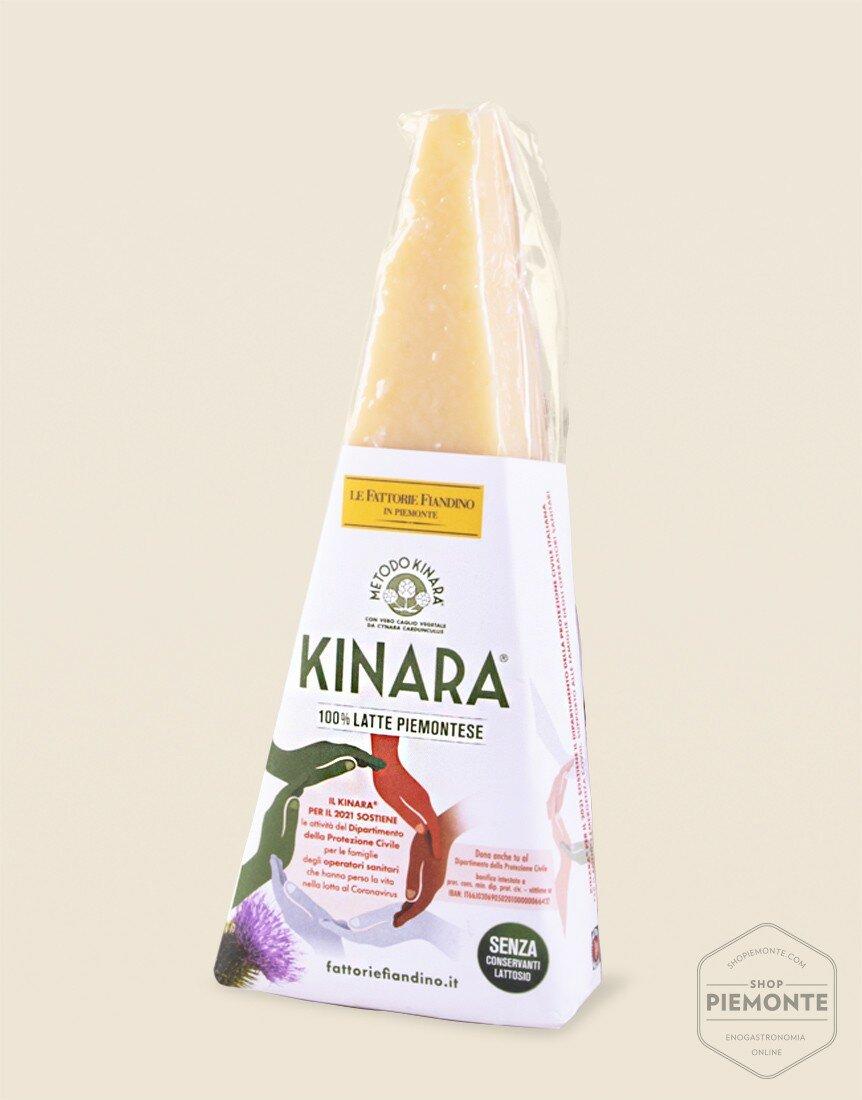 Gran Kinara 250 g Formaggio a Caglio Vegetale Fattorie Fiandino